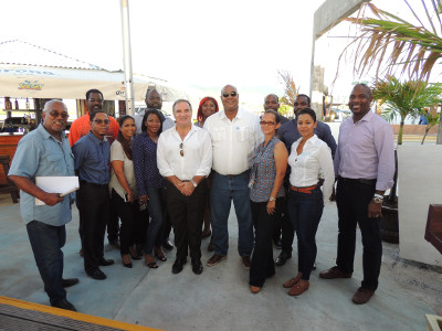 Port, Government and Private Sector take Evaluation Tour in Effort to Ensure a Positive Cruise Experience.