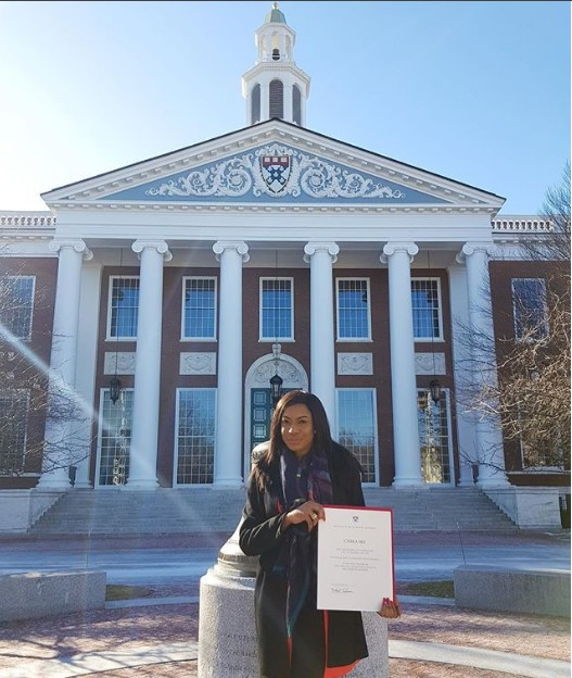 Actress, Chika Ike Graduates From Harvard Business School After 8 Months Training